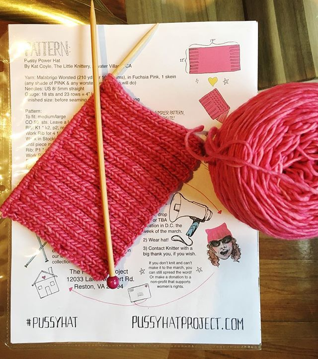 THE PUSSYHAT PROJECT. Yes!!!! How amazing would it be to have all 1.17 million women at the Women's March in DC rocking a pink pussyhat? https://www.pussyhatproject.com Check them out and get those needles knitting! #pussyhat #pussyhatproject