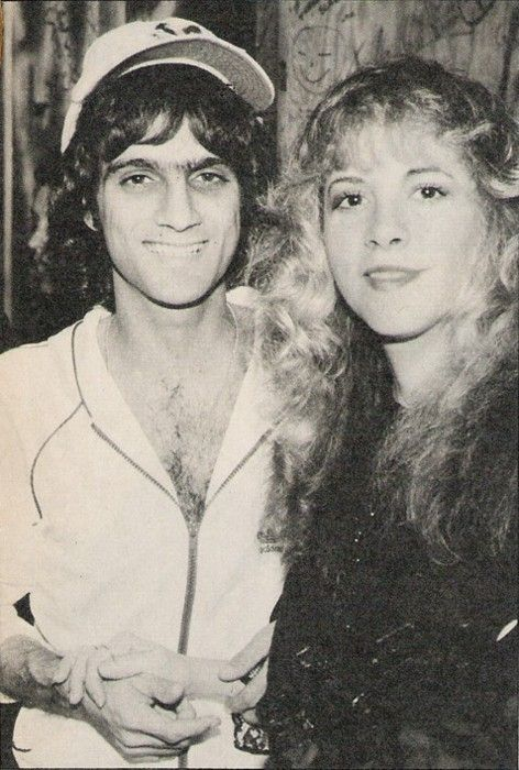 Jimmy Iovine and Stevie   ~ ღ☆❤☆ღ ~  1981; he was a hot-shot record producer from New York and Stevie's then-boyfriend