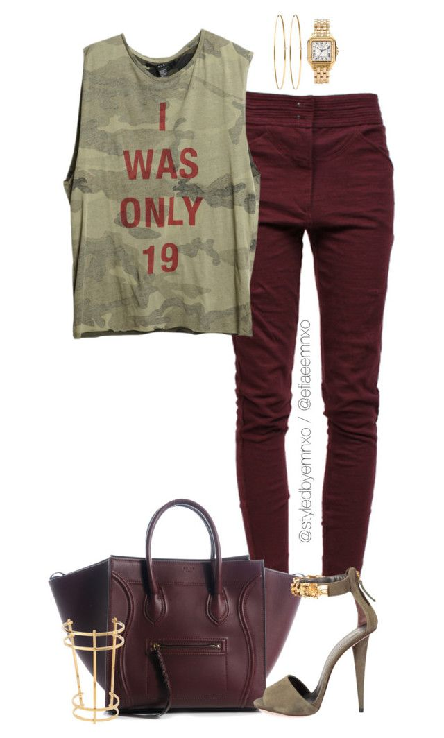 """I was only 19"" by efiaeemnxo ❤ liked on Polyvore featuring Isabel Marant, Giuseppe Zanotti, Chloé, Jennifer Meyer Jewelry, Cartier, polyvoreeditorial, sbemnxo and styledbyemnxo"