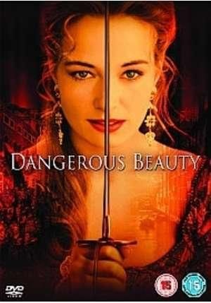 "Dangerous Beauty, 1998 -  biographical drama film based on the non-fiction book ""The Honest Courtesan"" by Margaret Rosenthal; about Veronica Franco, a courtesan in sixteenth-century Venice who becomes a hero to her city, but later becomes the target of an inquisition by the Church for witchcraft. ... My favorite movie of all time."