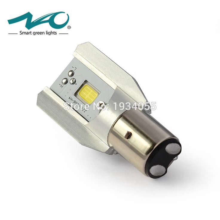 Ba20d led motor headlight blub dc 6 v ~ 80 v 6 w cahaya cob 800lm 6500 k moto skuter accessoire motorbike kepala lampu nao # m2s