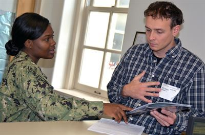 Face of Defense: Navy Recruiter Credits Success to Hard Work