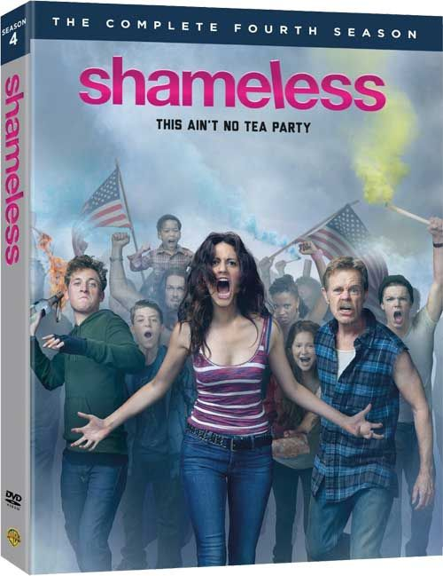 Shameless - Blu-ray Disc and DVD Plans for 'The Complete 4th Season' of the U.S. Show!