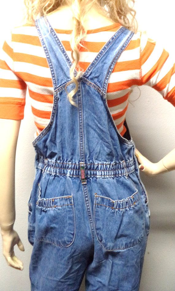 Vintage 80's Gitano Faded Blue Denim by GypsysTreasureCove on Etsy