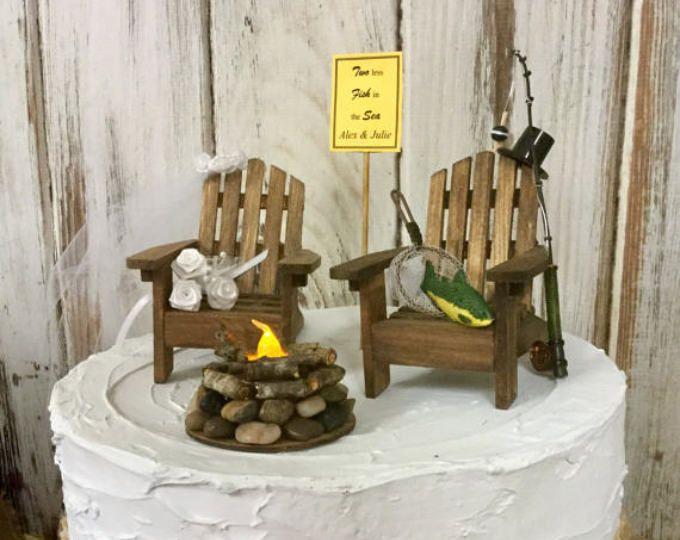 Best 25+ Fishing wedding cakes ideas on Pinterest ...