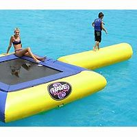 $349.95 (CLICK IMAGE TWICE FOR UPDATED PRICING AND INFO) RAVE Sports Aqua Log - Small Inflatable Water Log Water Trampoline Attachment.See More Inflatable Water Trampolines at http://www.zbuys.com/level.php?node=3996=inflatable-water-trampolines
