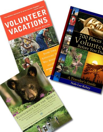 Read up on your volunteer vacation adventure with these great resources: Volunteer Vacations: Short-Term Adventures That Will Benefit You and Others  700 Places to Volunteer Before You Die: A Traveler's Guide  Ecotourists Save the World: The Environmental Volunteer's Guide to More Than 300 International Adventures to Conserve, Preserve, and Rehabilitate Wildlife and Habitats  Got a great volunteer vacation story? Tell us all about it in the comments section.   - PopularMechanics.com