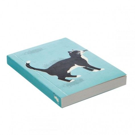 Meow notebook - available from our online gift shop.