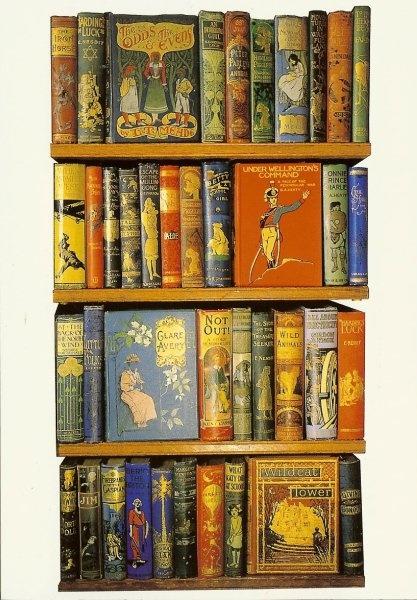 A Postcard a Day: Beautiful books