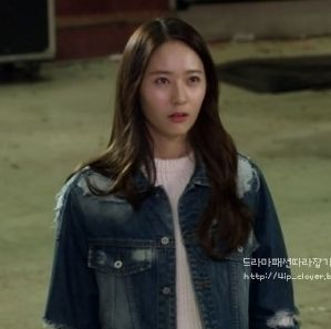 ep4 Krystal Jung as Lee Bo Na : tankus jacket [The Heirs]