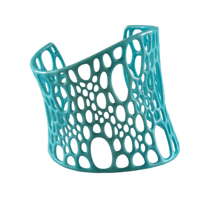 Nervous System Cuff Turquoise