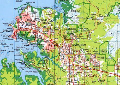 MapasBlog: Mapas de Darwin – Austrália