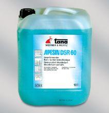 Apesin DSR cu efect de inactivare a virusilor, eficient impotriva HVB si HIV.