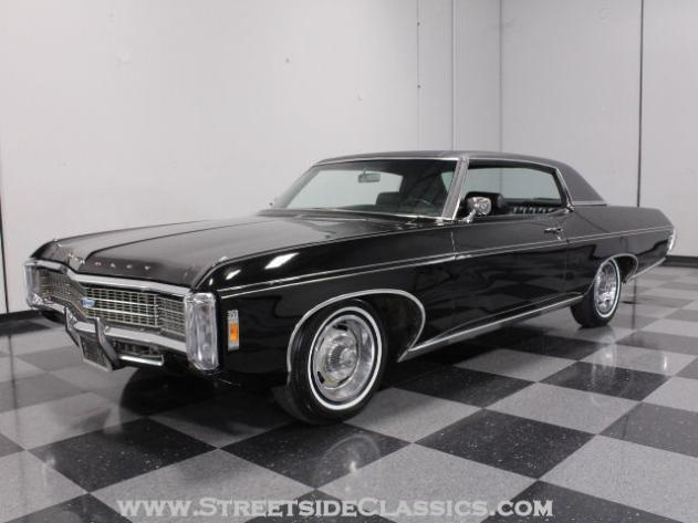 AutoTrader Classics - 1969 Chevrolet Caprice Coupe Black Other Automatic Other | American Classics | Lithia Springs, GA