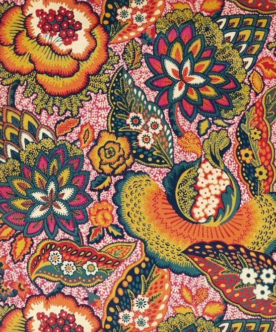 Patricia Cotton Velvet In Spice