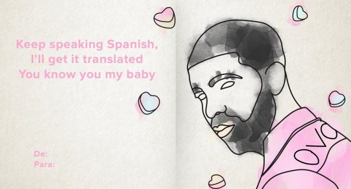 Because love takes some effort, just ask Dominican Drake.