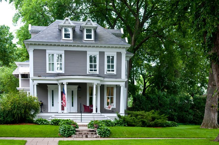 17 Best Images About American Foursquare Homes On