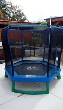 Plum 7ft Junior Trampoline with Enclosure Blue