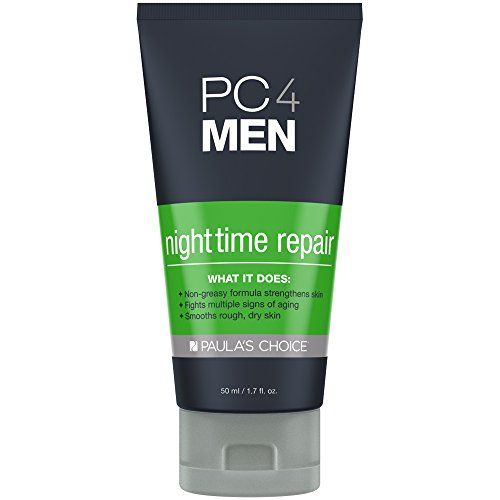 Paulas Choice PC4MEN Nighttime Repair Mens Moisturizer with Retinol for All Skin types  17 oz >>> Be sure to check out this awesome product.