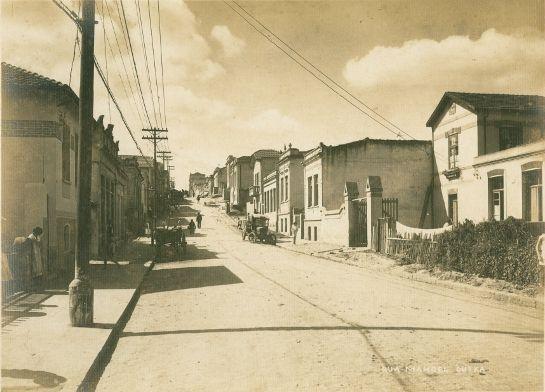 Década 1920 -Rua Manoel Dutra - Bela Vista-sp