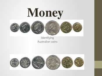 Money:Identifying Australian Coins Powerpoint