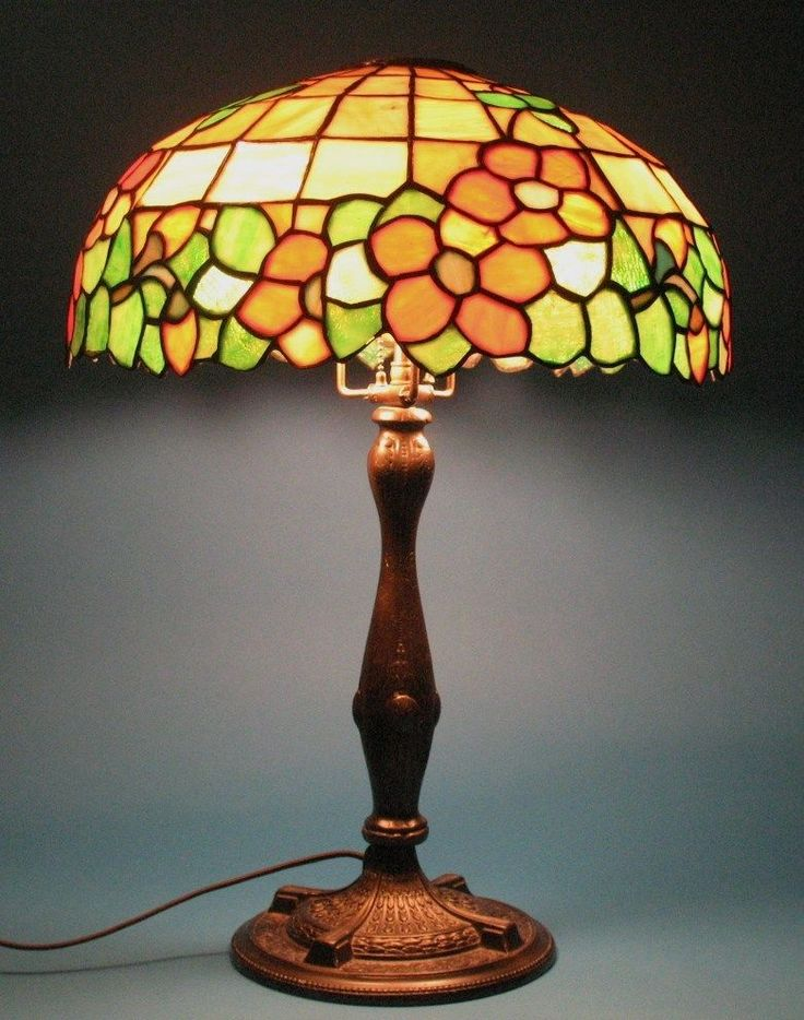 Antique Stained Glass Chandelier Best Home Design 2018