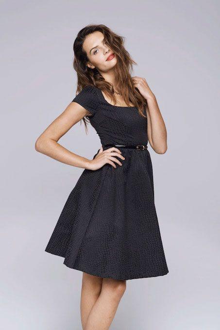 Paper Crown Fall 2013 Broadway Dress in Black