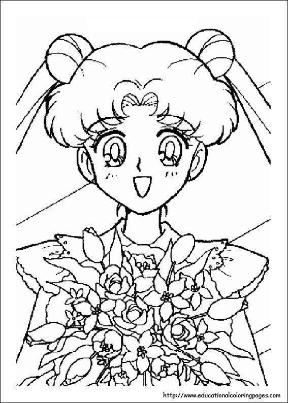 Pudding Fong Portrait Coloring Pages