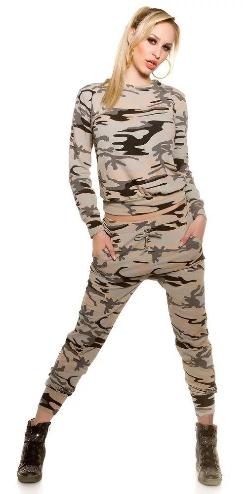 Dámská army mikina