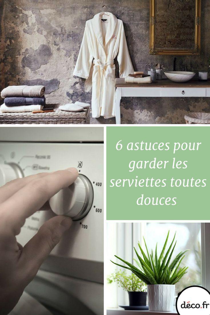 Voici les astuces de nos grand-mères pour des serviettes aussi douillettes qu'au premier jour !