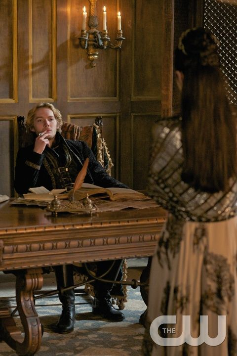 """Reign -- """"Abandoned"""" -- Image Number: RE219b_0003.jpg -- Pictured (L-R): Toby Regbo as King Francis II and Adelaide Kane as Mary, Queen of Scotland and France -- Photo: Sven Frenzel /The CW -- © 2015 The CW Network, LLC. All rights reserved."""