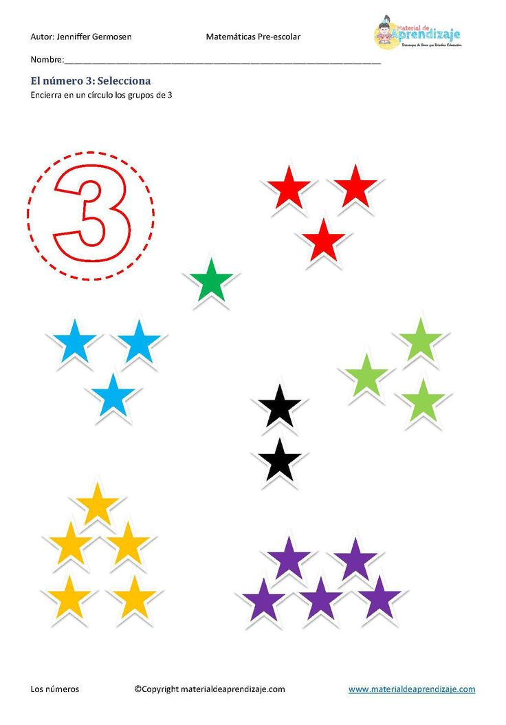 El número 3 selecciona - Material de Aprendizaje