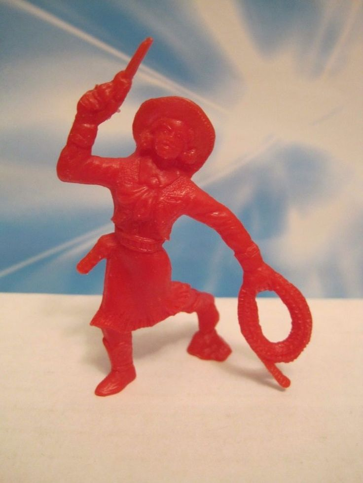 TIM MEE MARX ROY ROGERS RANCH PLAYSET VINTAGE COWGIRL 60MM PLASTIC TOY SOLDIER #TIMMEE