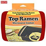 #4: Top Ramen Rapid Cooker  Microwave Ramen in 3 Minutes  BPA Free and Dishwasher Safe  Red