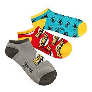 Big Bang Theory Low Cut Socks 5-pack