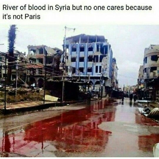 Syria WHY, All lives matter ... kd