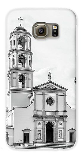 Thomas Aquinas Galaxy S6 Case featuring the photograph Thomas Aquinas College Chapel by University Icons