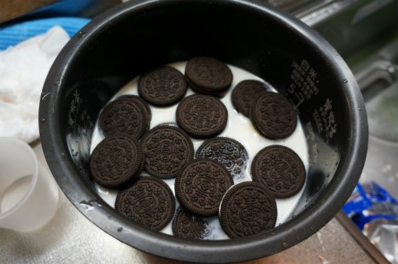 Oreo Rice, yes it sounds weird, but it's a delicious dessert.