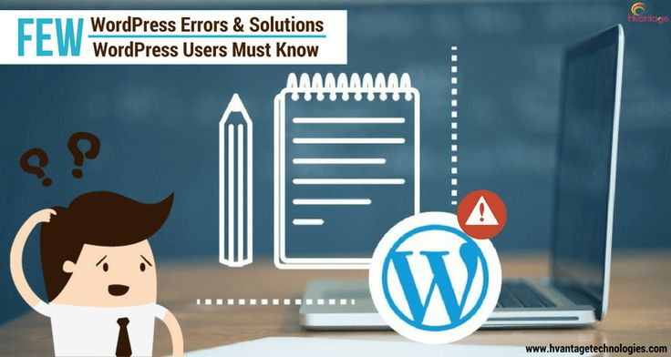 Are you a #WordPress user? Are you too experiencing the errors in using your WordPress and looking for fixing the bugs? Here are some major WordPress errors and solutions, Let's have a look….