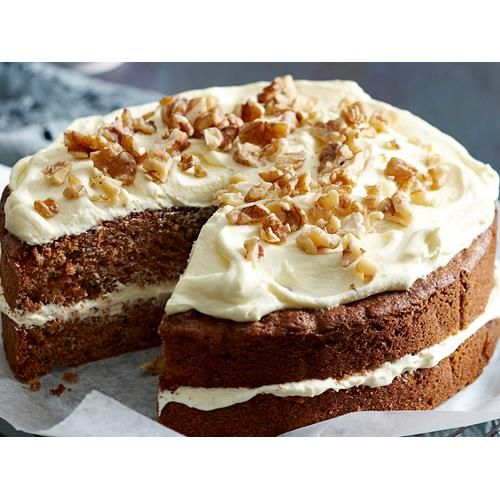 This classic carrot cake recipe is best served with a cream cheese frosting, and can be made into muffins, cupcakes or healthy bliss balls for snacks.