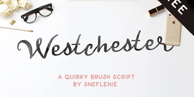 Westchester Brush Font