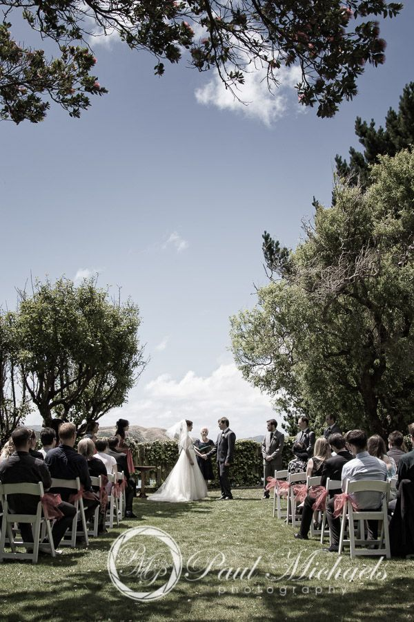 Ceremony at Gear Homestead. Wedding photography in Wellington, NZ. By PaulMichaels http://www.paulmichaels.co.nz/