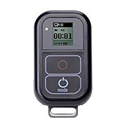 Suptig Waterproof Wireless Remote Control for GoPro Hero 5/5 session/4/4s/3+/3 - Best GoPro Remote Buying Guide and Review