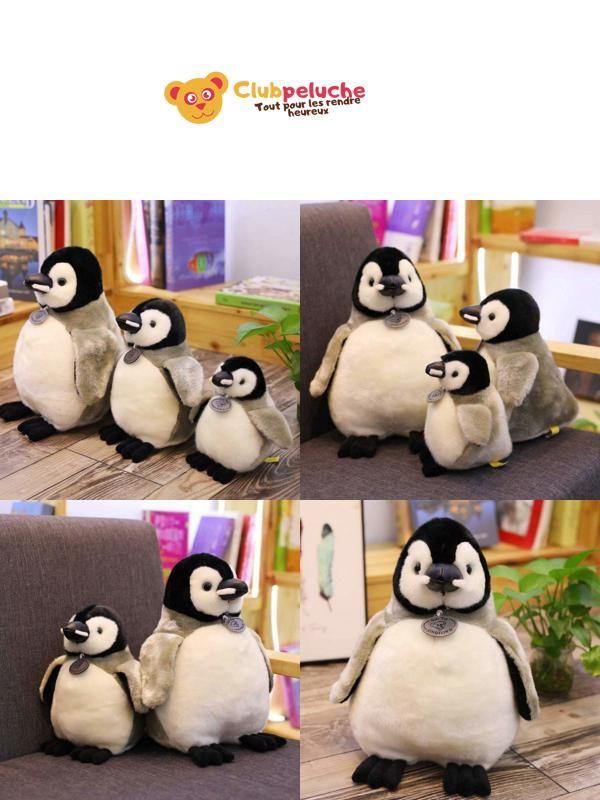 Animal en Peluche Peluche Doudou Pingouin Phillip