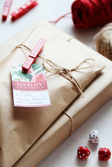 Craft paper wraping