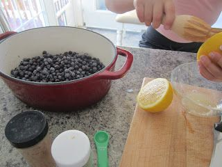 Traditional Nova Scotia Blueberry Grunt | Eating Real, Being Real