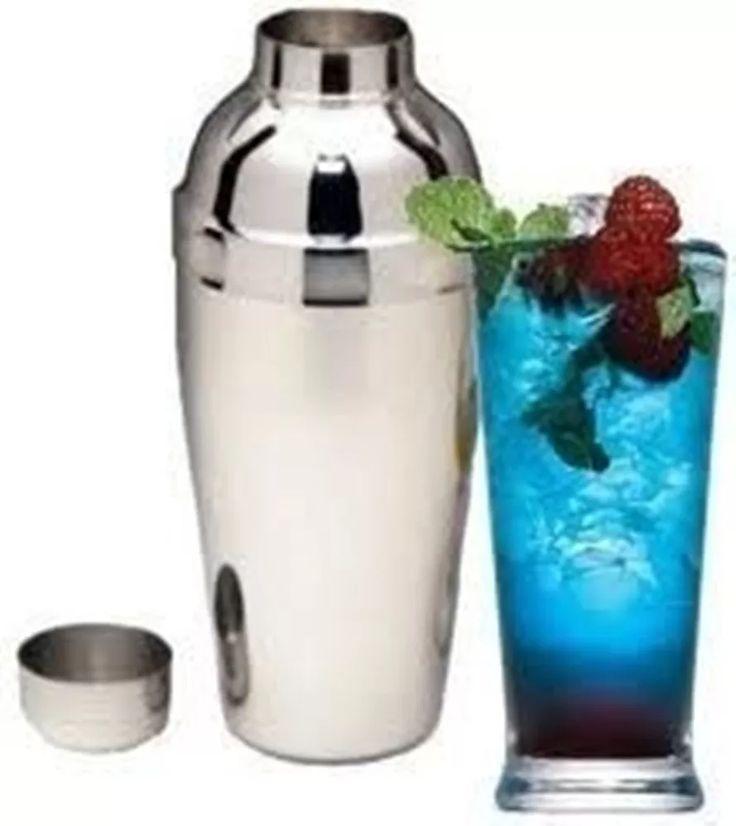 coqueteleira aço inox 500 ml - drinks caipirinha bebidas bar