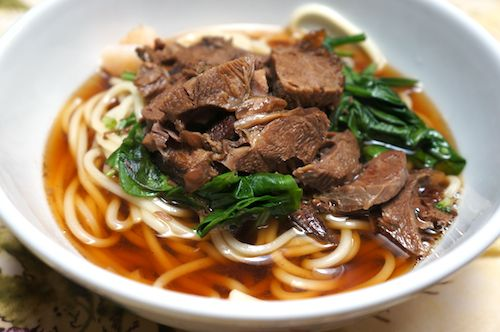 Braised Beef Noodle Soup - My dad makes this whenever I go home.  I haven't tried this specific recipe but I will soon!