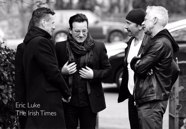 U2 at DJ Tony Fenton's funeral today #Dublin via @EricLuke2  #U2 @U2Kouklitsa @TheeEdge @u2radiocom @U2UKFanfeed https://twitter.com/OldDublinTown/status/577542411972399105/photo/1