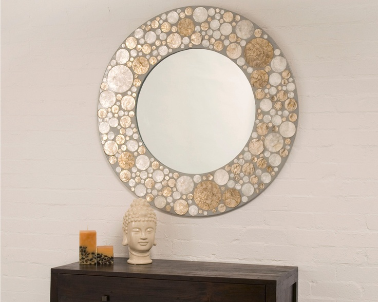 This Gorgeous Mirror Will Make A Statement In Living Room